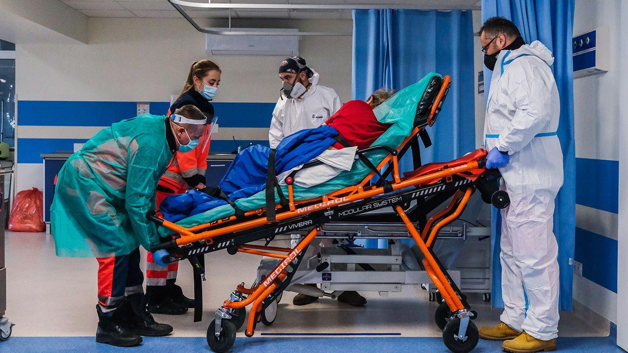 Nowe dane resortu zdrowia o epidemii koronawirusa (fot. Omar Marques/Getty Images)