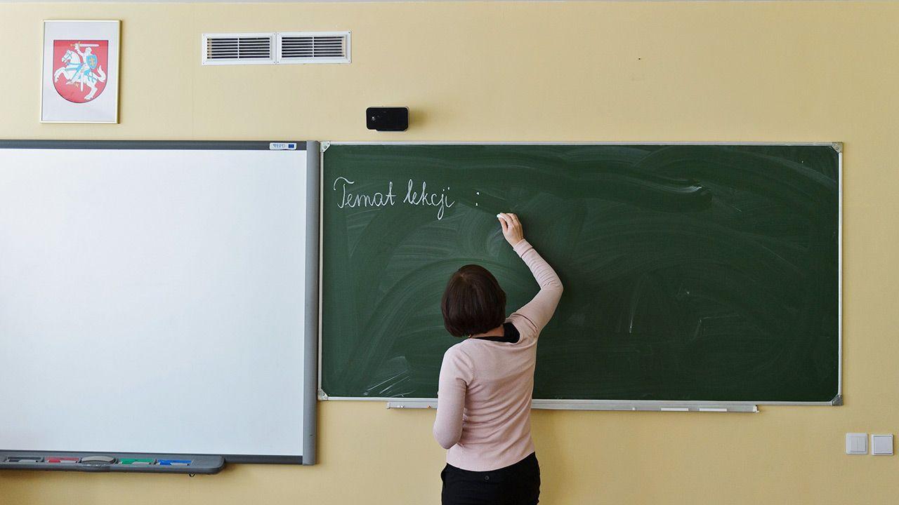 Zaproponowano m.in. wykreślenie języka ojczystego z listy przedmiotów obowiązkowych w 11. i 12. klasie (fot. PAP/Wojciech Pacewicz)