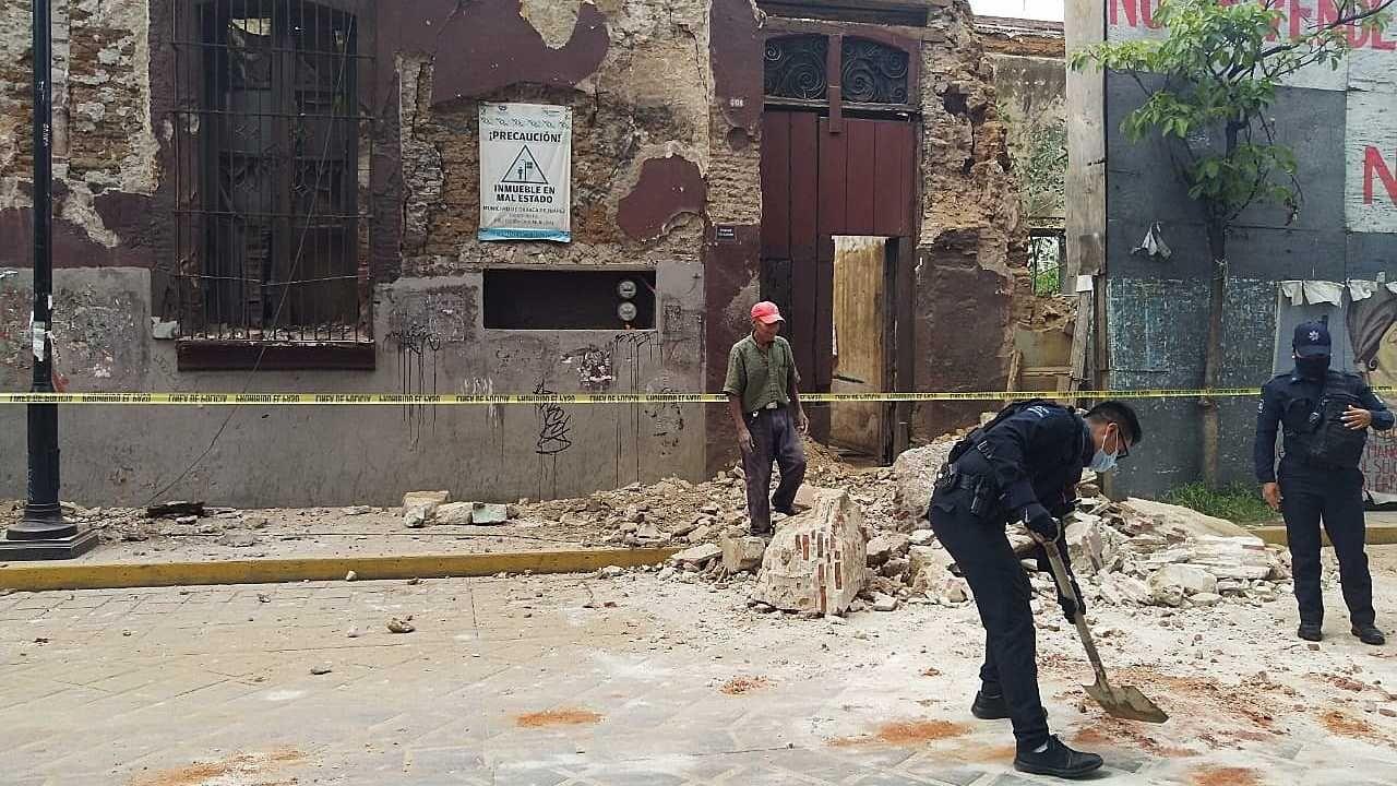 Odnotowano ponad trzysta wstrząsów wtórnych (fot. PAP/EPA/Daniel Ricardez)