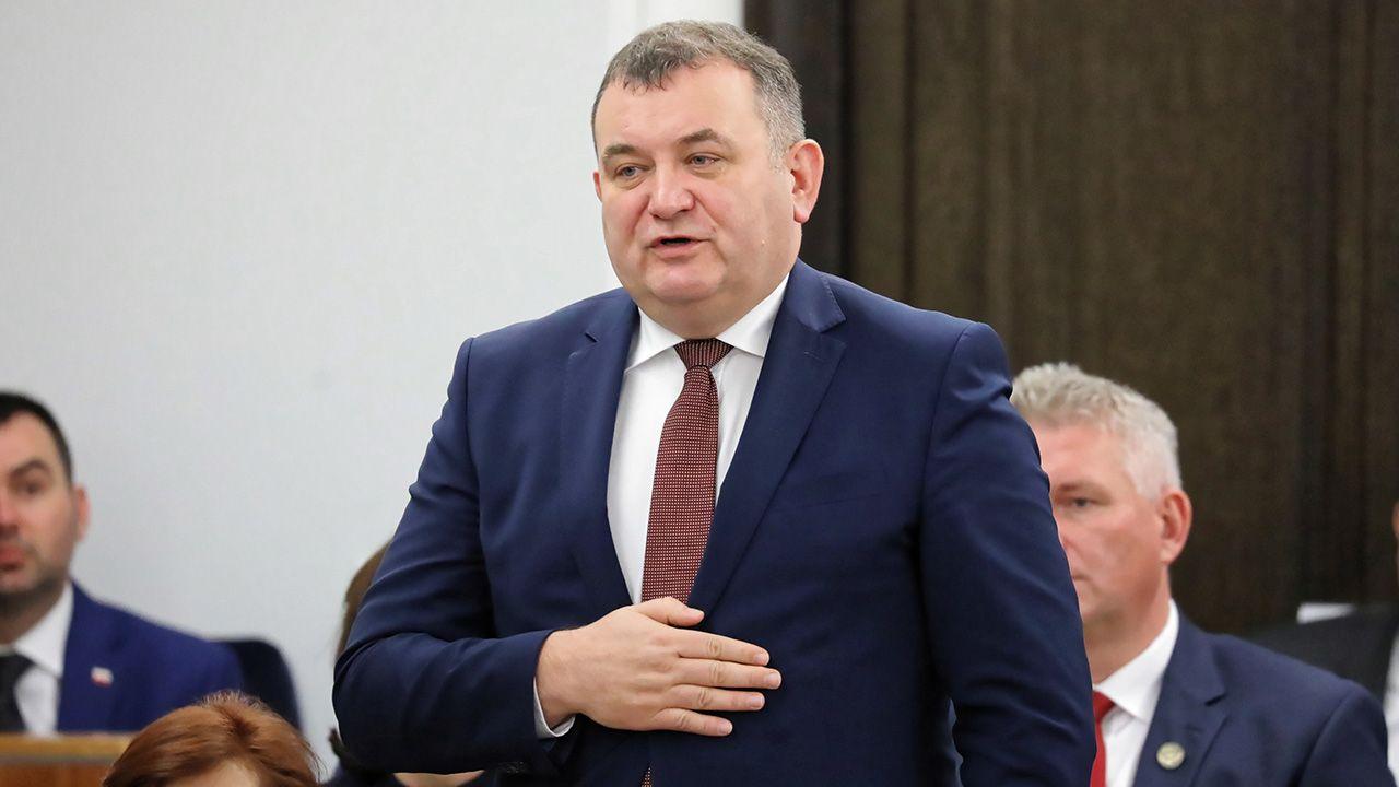 Gawłowski jest jednym z oskarżonych w tzw. aferze melioracyjnej, m.in. o przestępstwa o charakterze korupcyjnym i pranie brudnych pieniędzy (fot. arch. PAP/Tomasz Gzell)