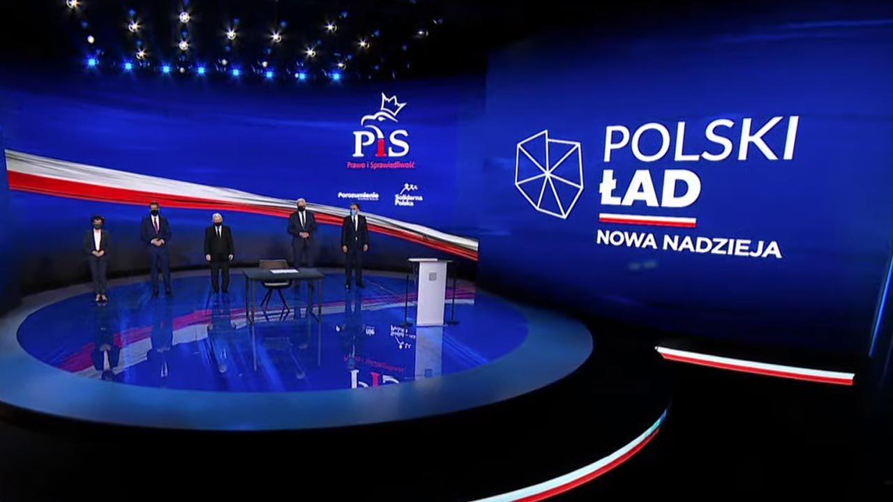 """""""Polski Ład"""" to wizja dotykająca bardzo wielu aspektów życia obywateli (fot. YouTube/Prawo i Sprawiedliwość)"""