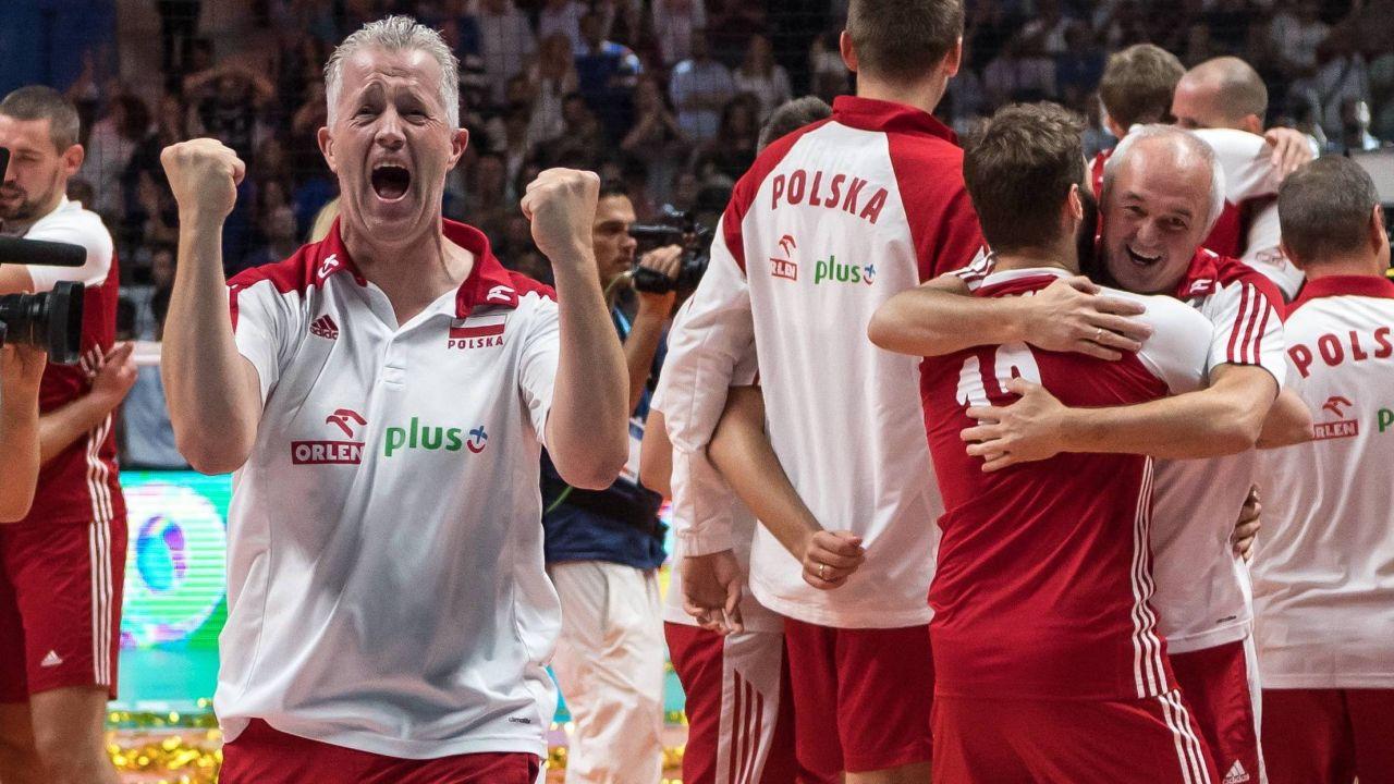 Vital Heynen pozwolił polskim siatkarzom uwierzyć, że są najlepsi na świecie (fot. PAP)
