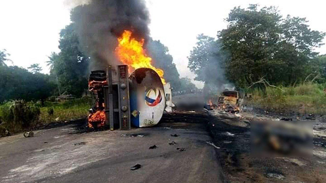 Od 50 do 70 osób zostało rannych (fot. TT/David Afangideh)