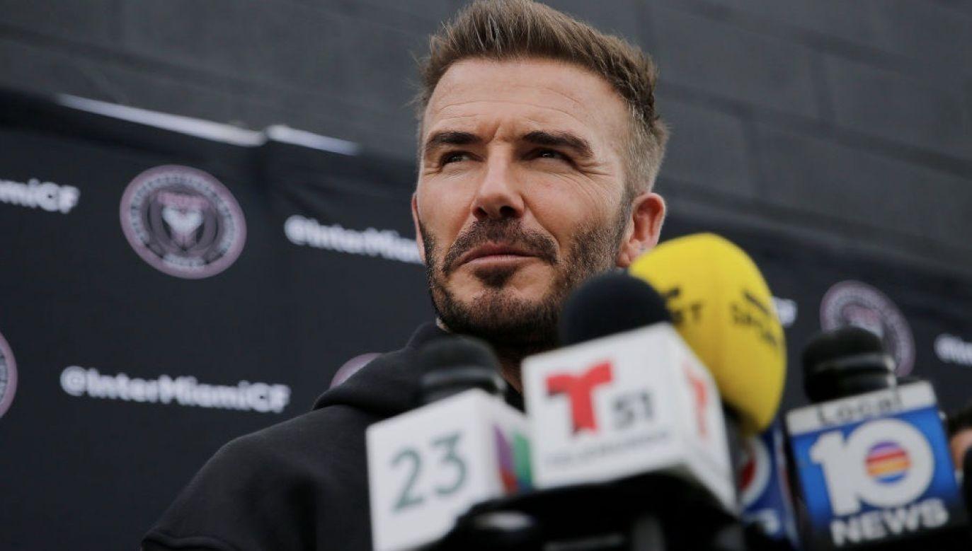 David Beckham będzie współwłaścicielem organizacji Guild Esports (fot. Michael Reaves/Getty Images)