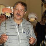 Andrzej Stępień – realizator dźwięku i światła z dzikami, które występują w Supełkowym teatrzyku.
