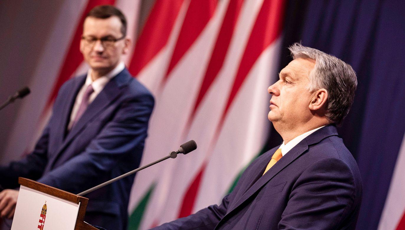 Do oświadczenia odniósł się wiceszef MSZ Paweł Jabłoński (fot. PAP/EPA/Zoltan Fischer/ Hungarian PM' Press Office HANDOUT)