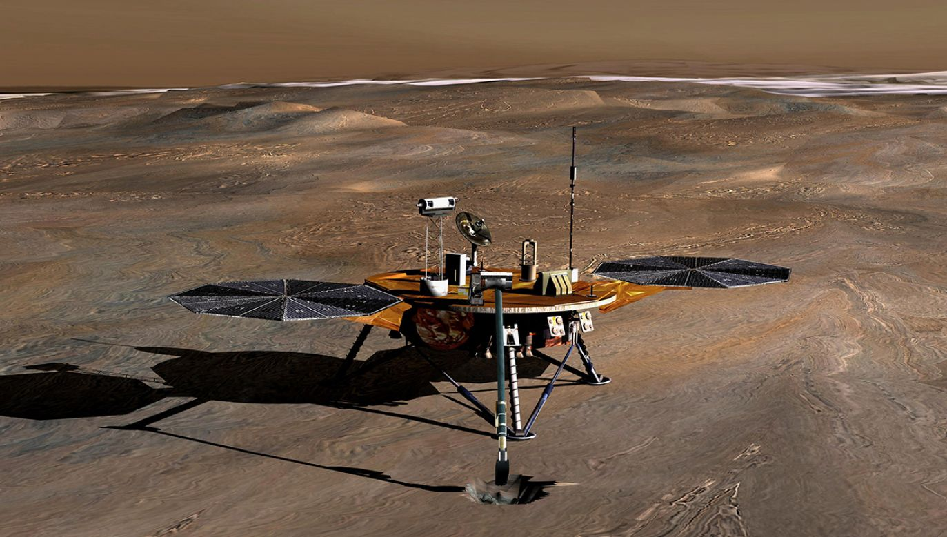 Metan był wykrywany na Marsie wielokrotnie w trakcie przebiegu misji Curiosity (fot. NASA/JPL via Getty Images)