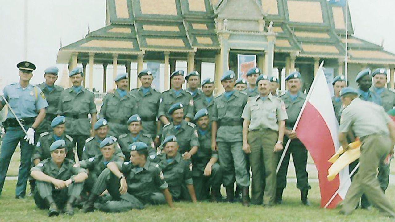 Polscy żołnierze z misji Organizacji Narodów Zjednoczonych (fot.Twoje Info)