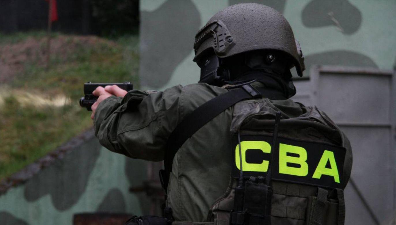 Wśród zatrzymanych jest zastępca wójta Gminy Biała Podlaska (fot. CBA)