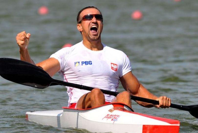 Marek Twardowski wywalczył złoto w wyścigu na 500 m (fot.PAP/EPA)
