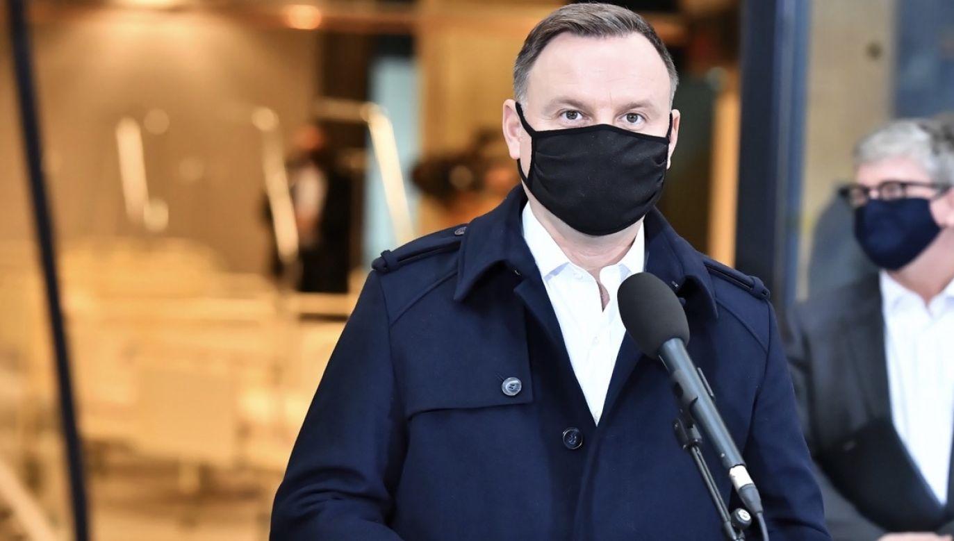 Prezydent Duda złoży projekt zmiany ustawy o planowaniu rodziny (fot. PAP/Andrzej Lange)