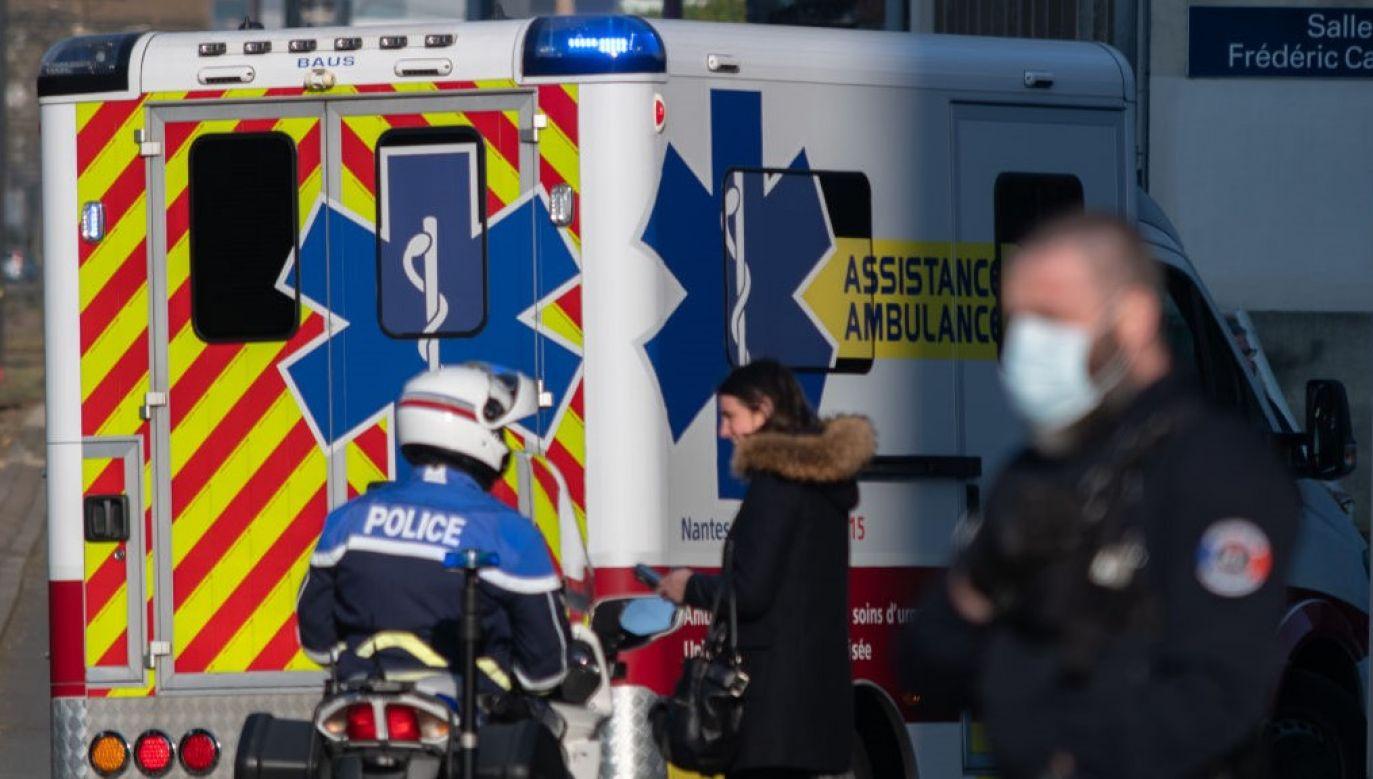 W wyniku awarii na kolejce linowej dwie osoby trafiły do szpitala w Lourdes (fot. Estelle Ruiz/NurPhoto via Getty Images)