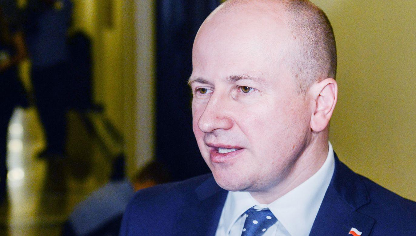 Sejm wybrał posła PiS Bartłomieja Wróblewskiego na Rzecznika Praw Obywatelskich (fot. PAP/Jakub Kamiński)