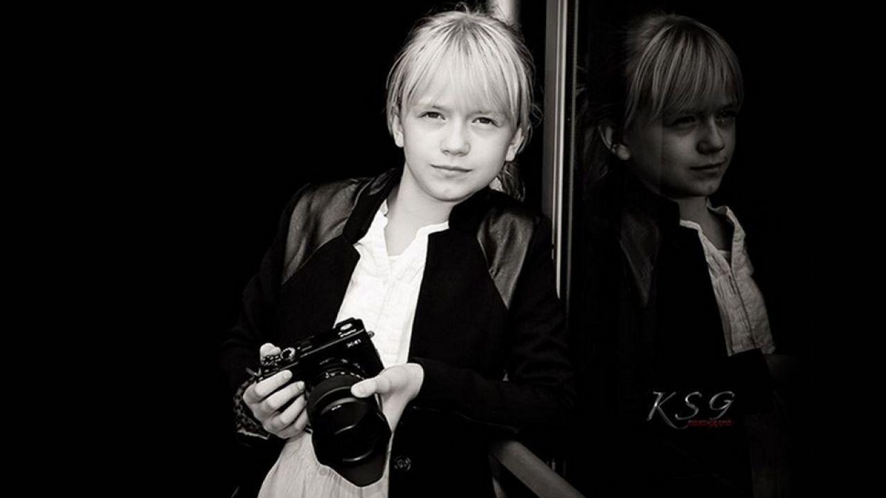 Regina ma 9 lat i już profesjonalnie fotografuje (fot. Instagram/ksgphotography)