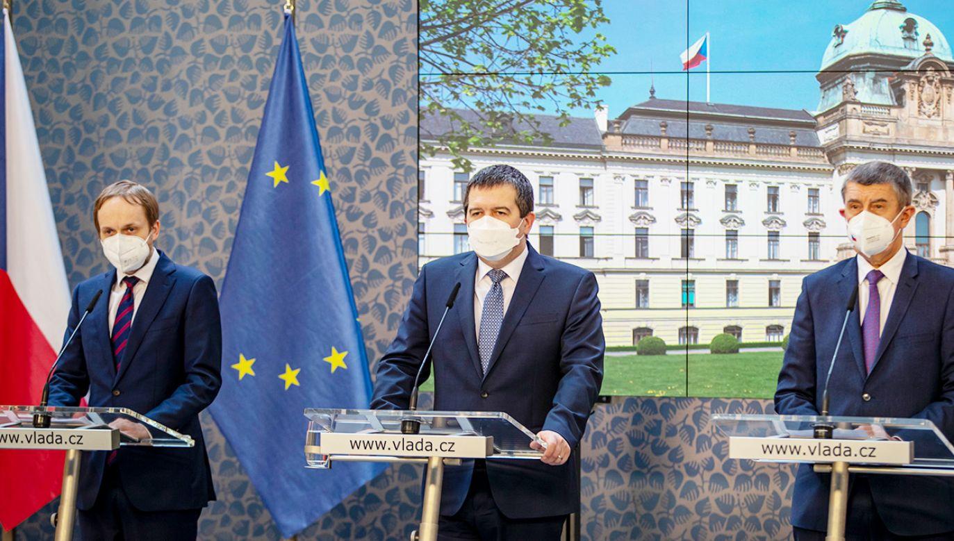Rosja nie odpowiedziała jeszcze na działania Pragi (fot. PAP/EPA/MARTIN DIVISEK)