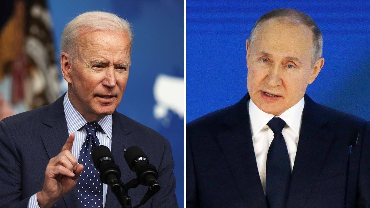 Prezydenci USA i Rosji  spotkają się 16 czerwca w Genewie (fot. Alex Wong/Getty Images; Konstantin Zavrazhin/Getty Images)
