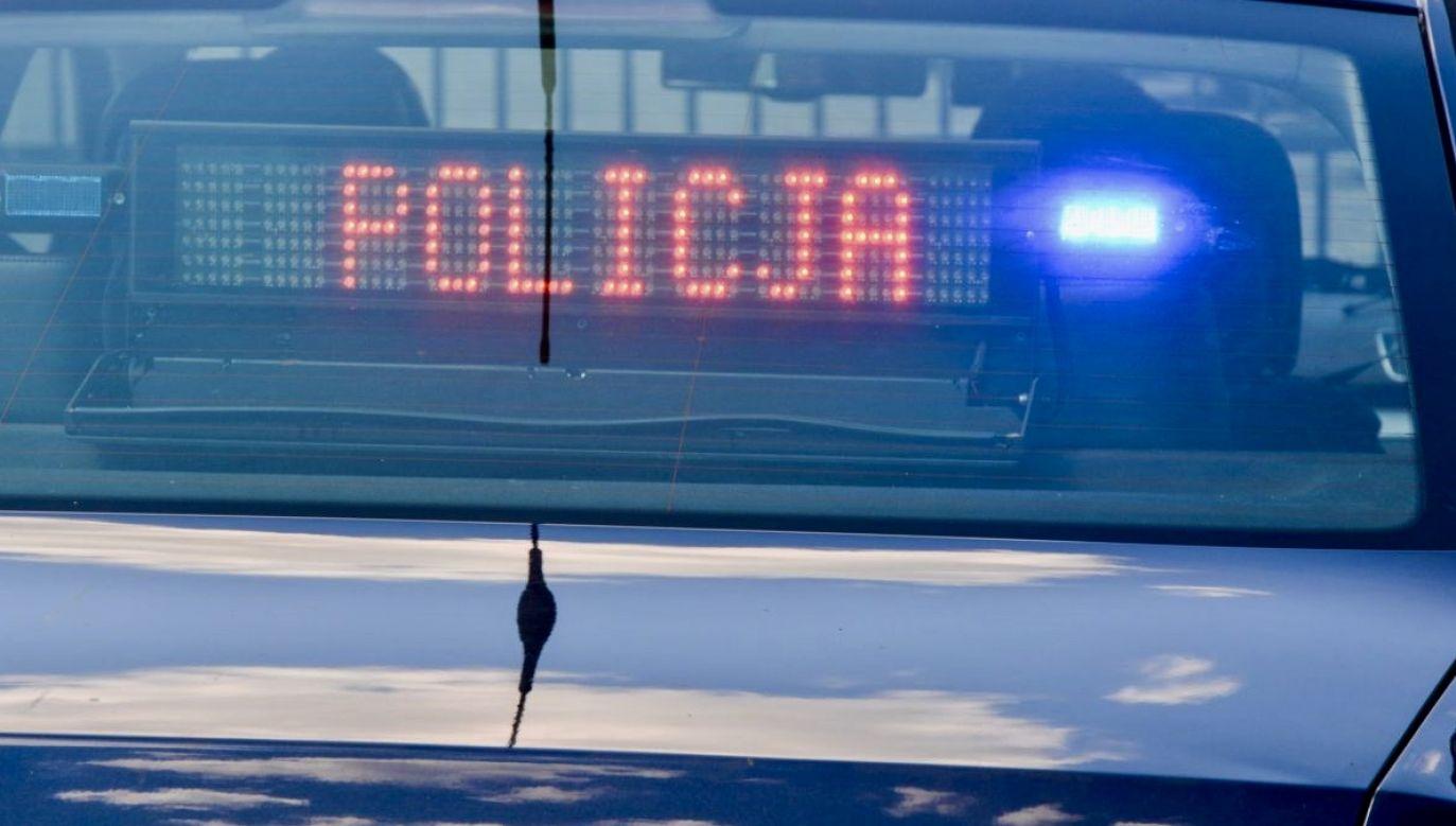 Kierowca kilka kilometrów dalej spowodował kolizję z innym samochodem (fot. policja.pl, zdjęcie ilustracyjne)