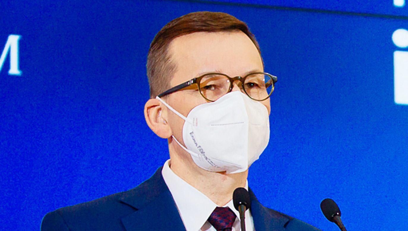 Kiedy konferencja premiera Mateusza Morawieckiego ws. obostrzeń? (fot. Krystian Maj/KPRM)
