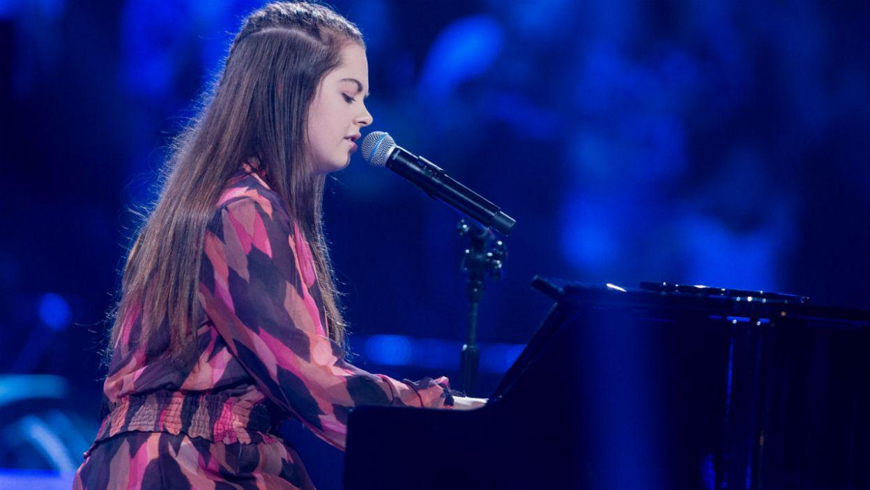Natalia zaśpiewała jako ostatnia (fot. J. Bogacz/TVP)