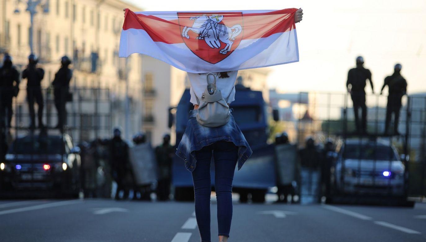 """""""Wybory z 9 sierpnia nie były ani wolne ani uczciwe"""" (fot. Reuters/Handout)"""