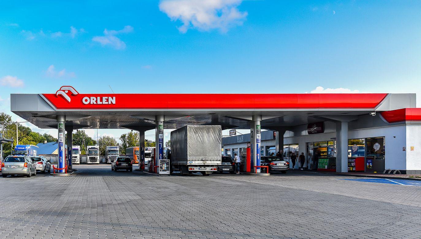 Informację podał Daniel Obajtek, prezes zarządu PKN ORLEN (fot. Shutterstock/Vytautas Kielaitis)