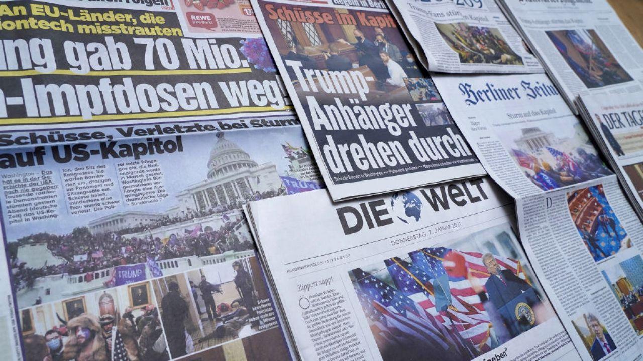 """""""Bezprecedensowy poziom"""" przemocy wobec dziennikarzy (fot. Sean Gallup/Getty Images)"""