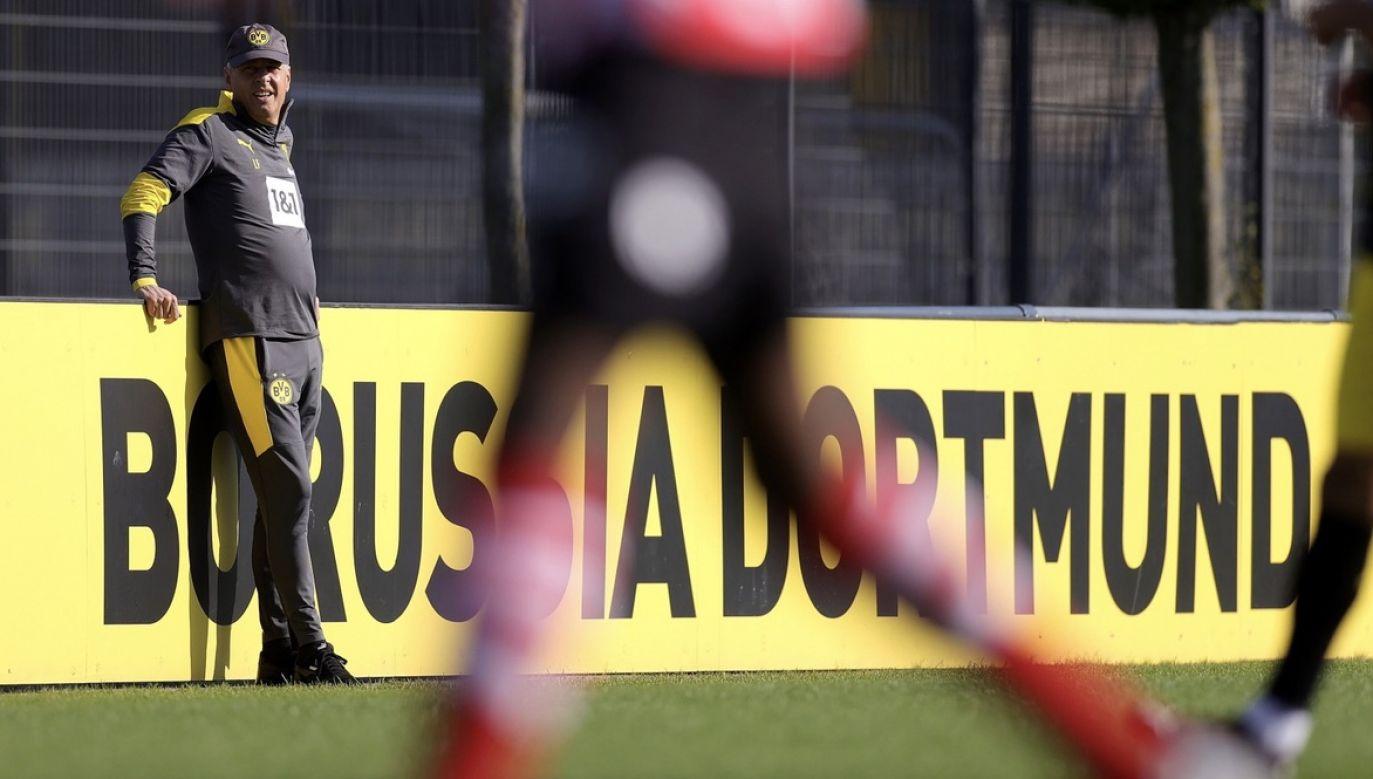 """""""Chcemy, by kobiecy futbol w Dortmundzie był tak samo popularny jak męski"""" (fot. PAP/EPA/FRIEDEMANN VOGEL)"""