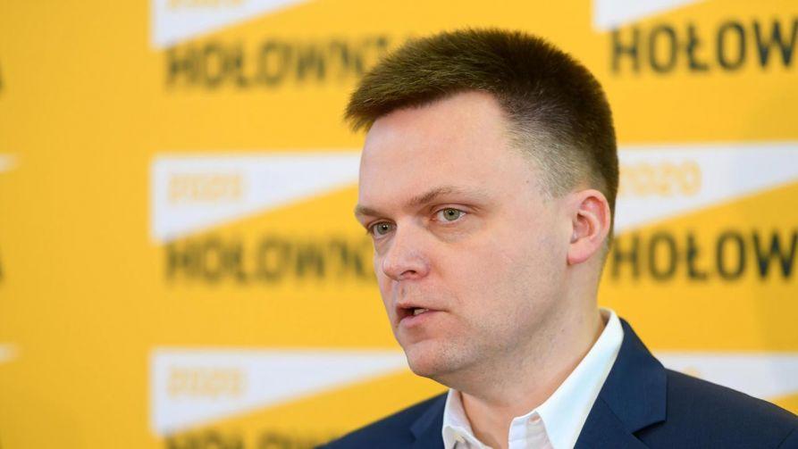 Szymon Hołownia proponuje, by do chorego Polaka wysłać kapelana (fot. PAP/Jakub Kaczmarczyk)