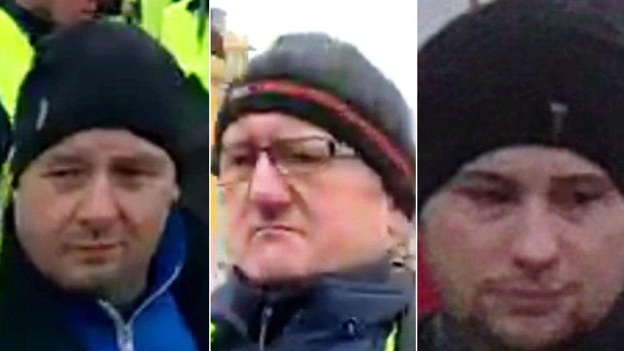 Funkcjonariusze zwracają się z prośbą o pomoc w ustaleniu tożsamości uczestników protestu (fot. KSP Warszawa)