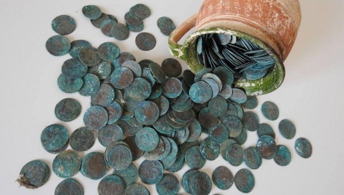 Monety został zakopane najpewniej około roku 1702 (fot. KPÚ Košice)