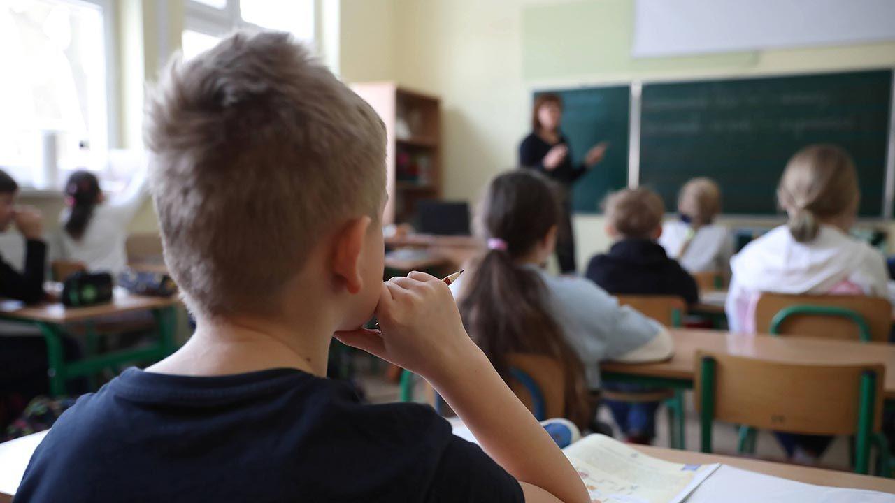 System oświaty w czasie epidemii (fot. PAP/Leszek Szymański)