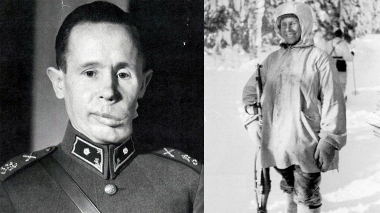 Fin Simo Häyhä jest najskuteczniejszym snajperem w historii (fot. Wiki)