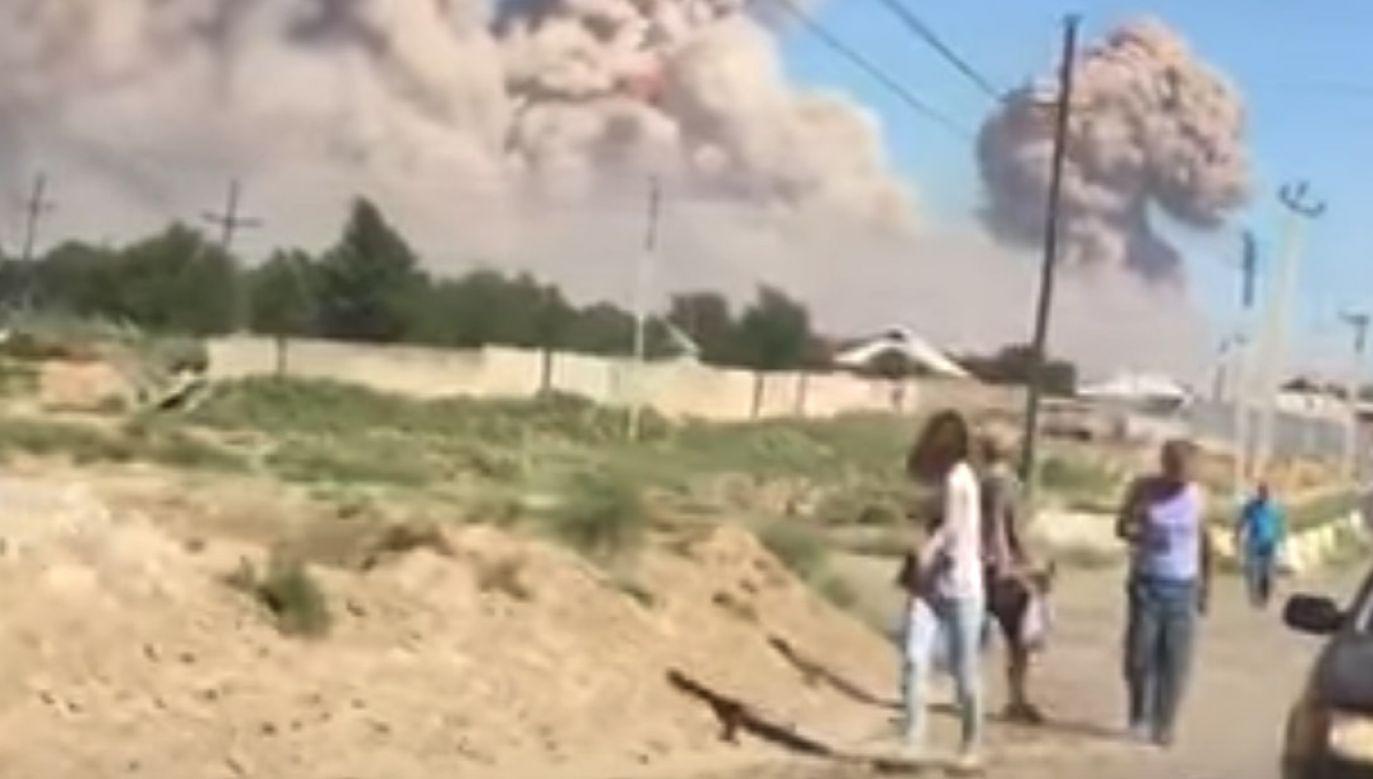 Kilkanaście osób zostało rannych w wybuchu (fot. yt/Взрыв2)