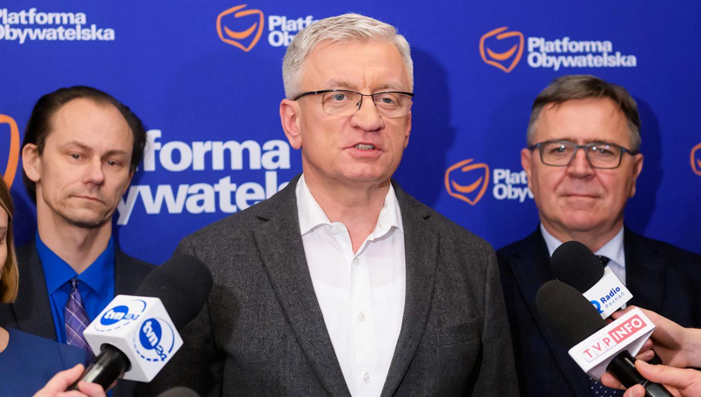 Prawybory w PO mają być przeprowadzone w najbliższą sobotę podczas konwencji partii (fot. PAP/Jakub Kaczmarczyk)