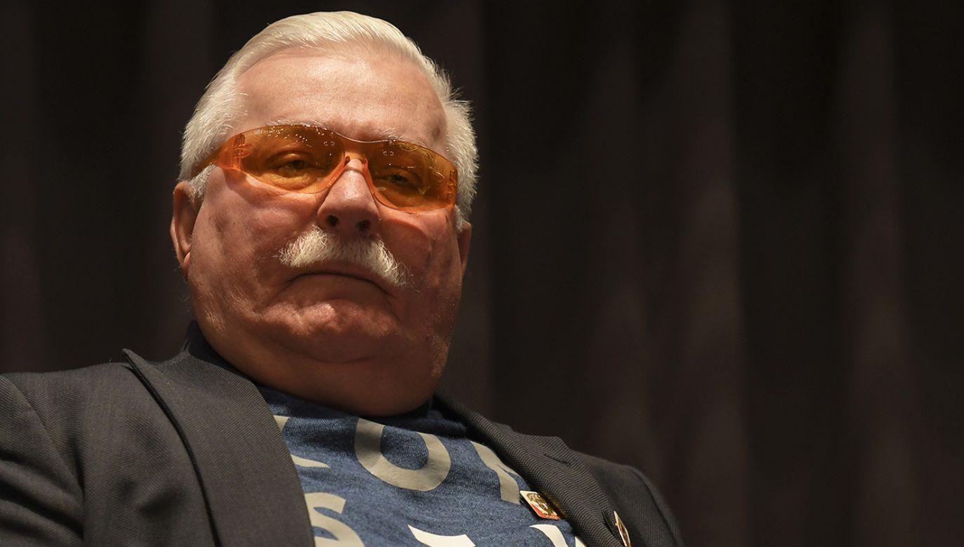 Były prezydent Lech Wałęsa udzielił wywiadu Russia Today (fot. Artur Widak/NurPhoto via Getty Images)