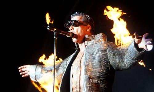 Koncert Rammstein w Melbourne. Australia, 28 stycznia 2001 r. Fot. Martin Philbey / Redferns