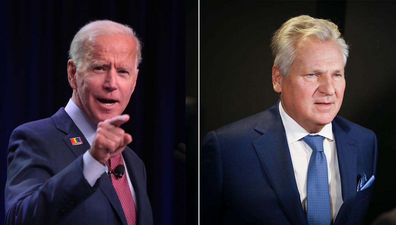 Co najmniej od kwietnia Trump i jego ludzie usiłują wykazać, że Joe Biden – najgroźniejszy rywal z Partii Demokratycznej – to polityk skorumpowany (fot. Gettyimages/ Scott Olson/NurPhoto)