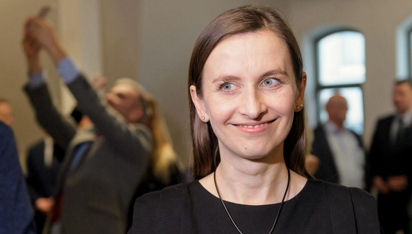 Portal tvp.info dotarł do skanu pisma z którego wynika, że posłanka Sylwia Spurek chce ukarania Polski (fot.  PAP/Jakub Kaczmarczyk)