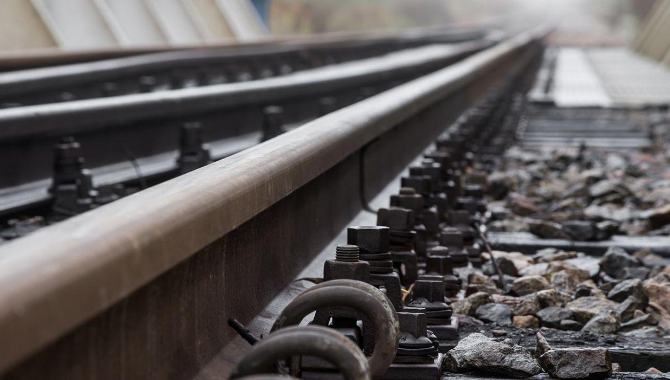 Ruch kolejowy wstrzymano na kilka godzin (fot. Shutterstock/Tomasz Mazon)