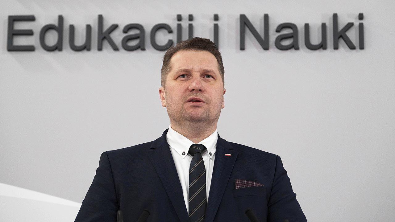 Przemysław Czarnek o końcu szkolnego lockdownu (fot. PAP/Mateusz Marek)