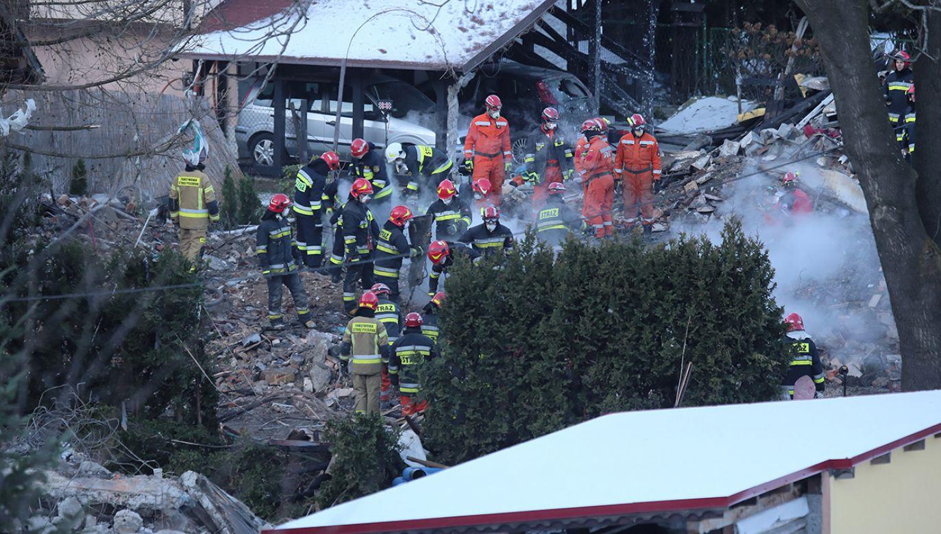 Prace w Szczyrku nie były nadzorowane przez specjalistów gazownictwa (fot. PAP/Andrzej Grygiel)