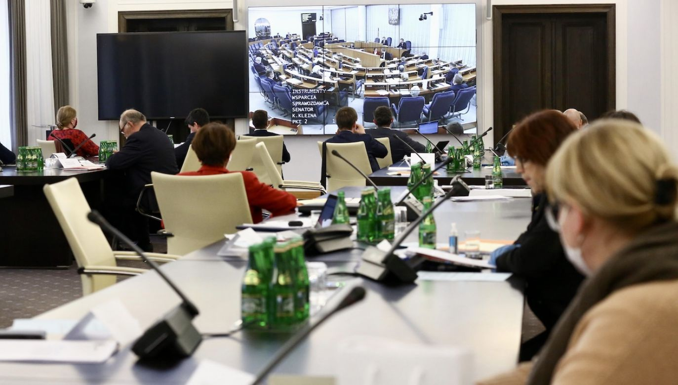 Wcześniej marszałek Senatu przesunął planowane posiedzenie (fot. M. Józefaciuk/Kancelaria Senatu)