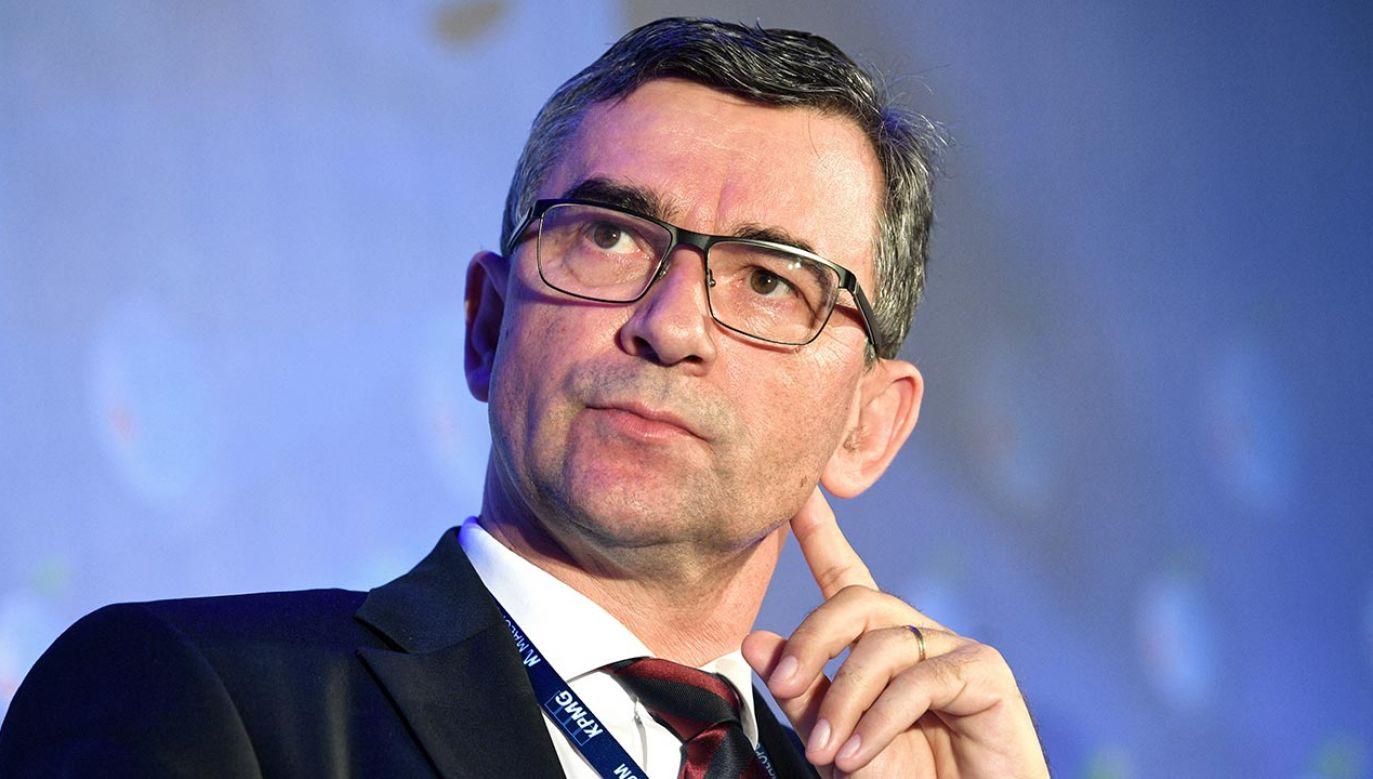 Ambasador Andrzej Przyłębski (fot. PAP/Darek Delmanowicz)