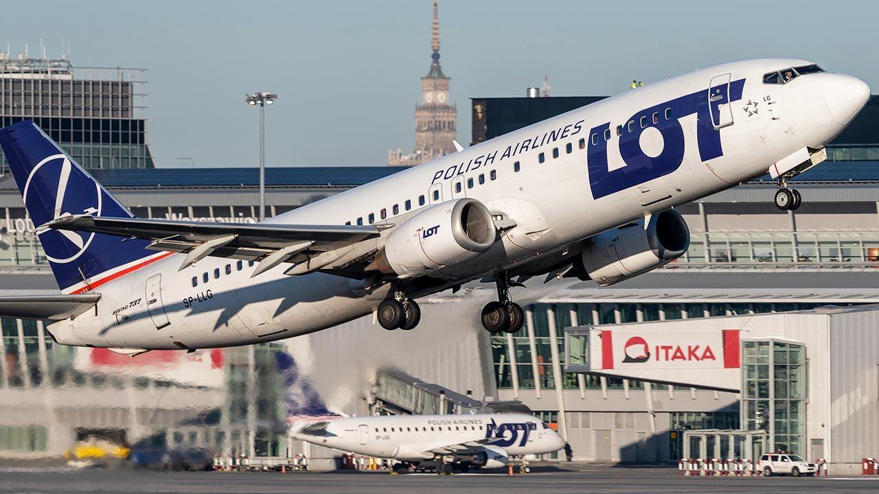 Gdzie wykonać szybki test na COVID-19 przy Lotnisku Chopina w Warszawie? (fot. Shutterstock/Konwicki Marcin)