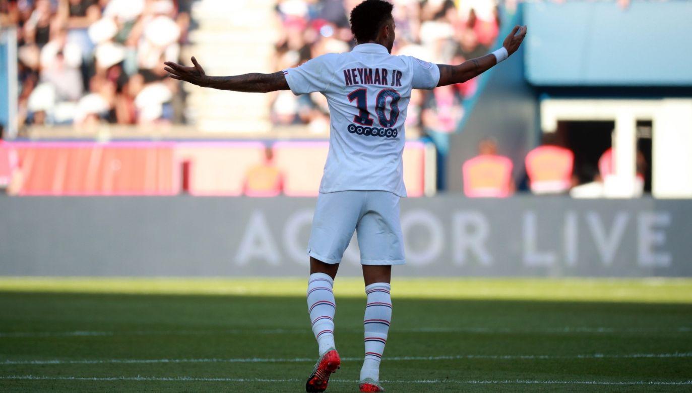 Neymar (fot. PAP/EPA)