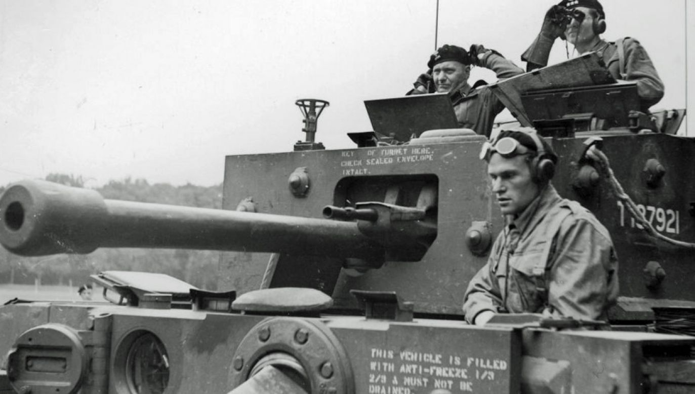 Gen. Stanisław Maczek dowodził 1 Dywizją Pancerną, która pomogła w odniesieniu zwycięstwa pod Falaise (fot. CAW)