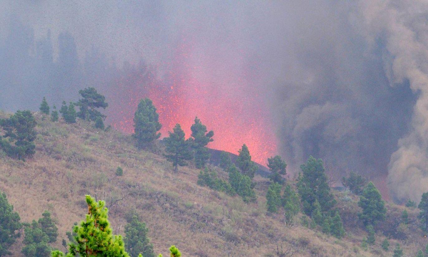 Wybuch wulkanu na wyspie La Palma