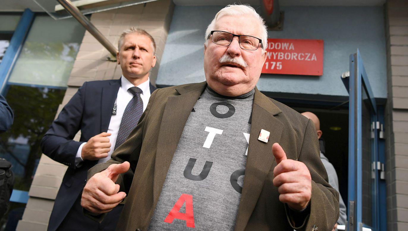 Były prezydent RP Lech Wałęsa (fot. PAP/Adam Warżawa)