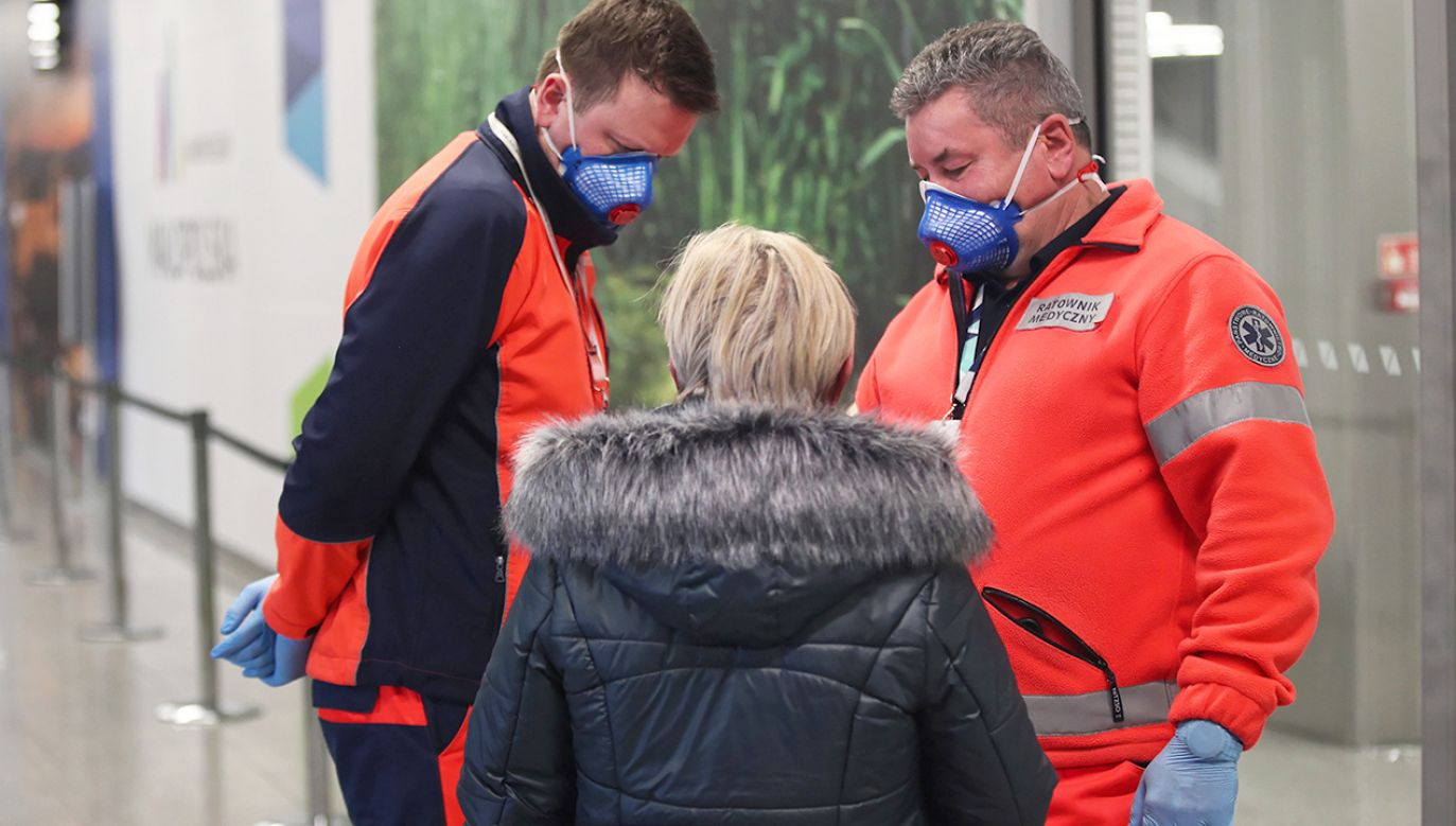 W Polsce jest hospitalizowanych 47 osób (fot. PAP/Łukasz Gągulski)
