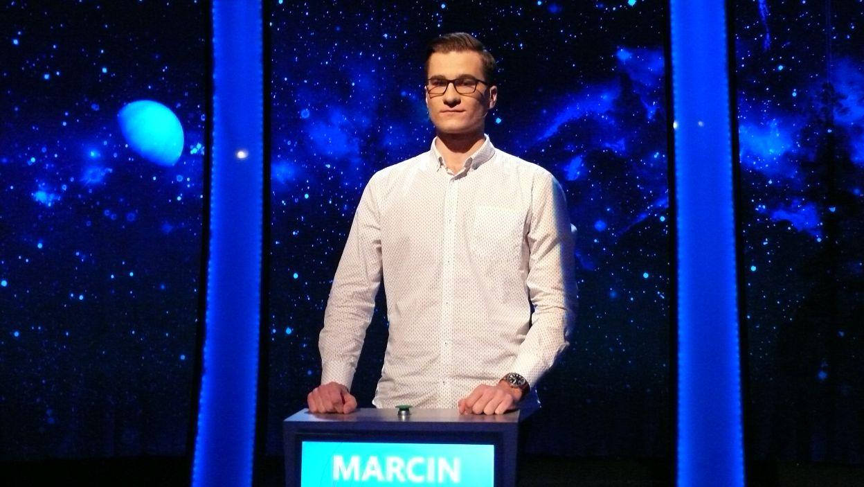 Marcin Wołoszyn - zwycięzca 17 odcinka 109 edycji